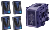 IDX EP-9/4S 4x ENDURA-HL9 Power Package (PowerLink) Simultaneous Charger (100W)