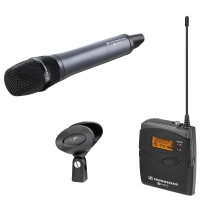 Sennheiser EW 135-P G3 GB Handheld Vocal Radio System with Portable Reciever