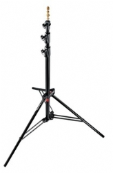 Manfrotto 1005BAC Ranker Light Stand, Black Air Cushioned - 1.18m to 2.73m