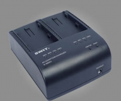 SWIT S-3602U Sony BP-U Style Dual Channel Sequential Charger/AC Adapter
